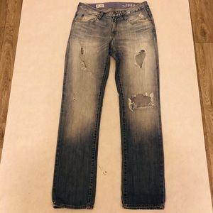 GAP Women 26/2 Easy Straight Jeans Light Wash